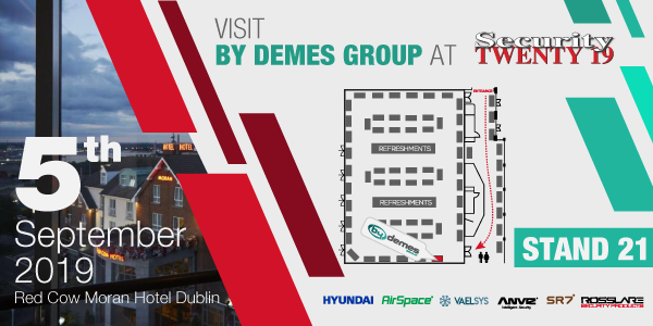 Visit By Demes Group at Security TWENTY 19 Dublin
